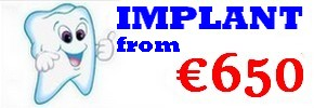 Dental implant costs Budapest, Hungary - Choose a treatment package: travel for a healthy smile!