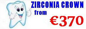 Zirconium crown costs Hungary
