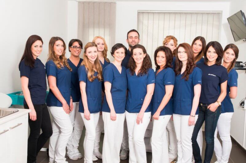 HairPalace team Budapest hårtransplantation kliniken